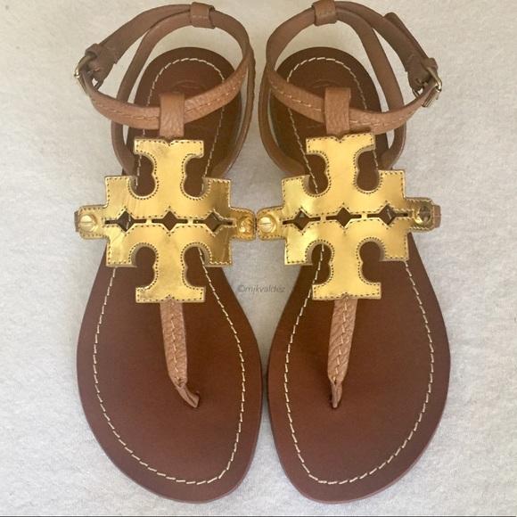 e6de06df7ec956 NWOB Tory Burch Chandler Flat Sandals. M 5b4104ec5c445235abeace02